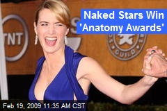 Naked Stars Win 'Anatomy Awards'