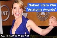 Naked Stars Win 'Anatomy Awards'