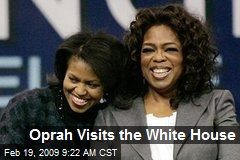 Oprah Visits the White House