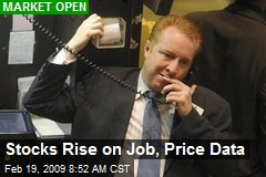 Stocks Rise on Job, Price Data