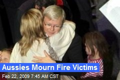 Aussies Mourn Fire Victims
