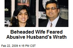 Beheaded Wife Feared Abusive Husband's Wrath