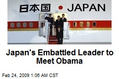 Japan's Embattled Leader to Meet Obama
