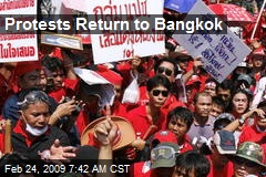 Protests Return to Bangkok