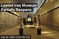 Looted Iraq Museum Partially Reopens