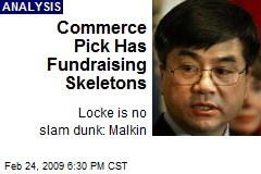 Commerce Pick Has Fundraising Skeletons
