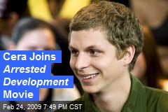 Cera Joins Arrested Development Movie