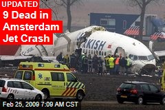 9 Dead in Amsterdam Jet Crash