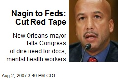 Nagin to Feds: Cut Red Tape