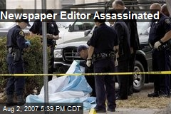 Newspaper Editor Assassinated