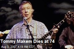 Tommy Makem Dies at 74