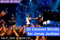 3D Concert Strictly for Jonas Junkies