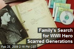 Family's Search for WWII Hero Scarred Generations