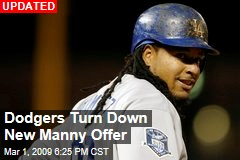 Dodgers Turn Down New Manny Offer