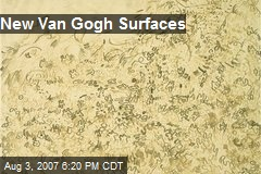 New Van Gogh Surfaces