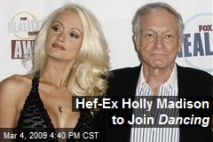 Hef-Ex Holly Madison to Join Dancing