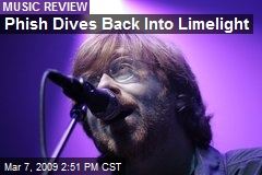 Phish Dives Back Into Limelight