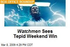 Watchmen Sees Tepid Weekend Win