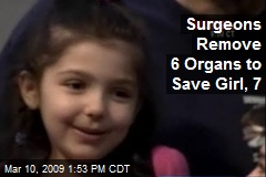 Surgeons Remove 6 Organs to Save Girl, 7