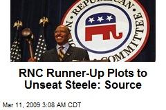 RNC Runner-Up Plots to Unseat Steele: Source