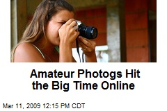 Amateur Photogs Hit the Big Time Online