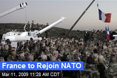 France to Rejoin NATO