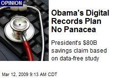 Obama's Digital Records Plan No Panacea