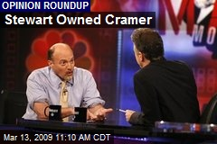 Stewart Owned Cramer