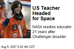 US Teacher Headed for Space