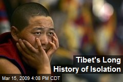 Tibet's Long History of Isolation