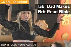 Tab: Dad Makes Brit Read Bible