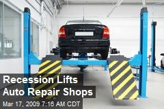 Recession Lifts Auto Repair Shops