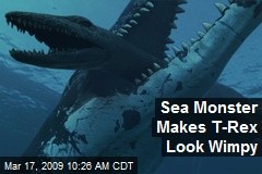 Sea Monster Makes T-Rex Look Wimpy