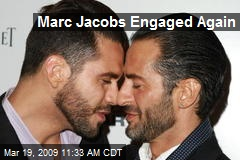 Marc Jacobs Engaged Again