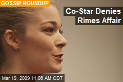 Co-Star Denies Rimes Affair