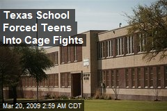 Texas School Forced Teens Into Cage Fights