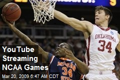 YouTube Streaming NCAA Games