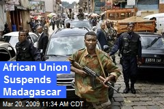 African Union Suspends Madagascar
