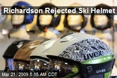Richardson Rejected Ski Helmet