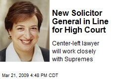 New Solicitor General in Line for High Court