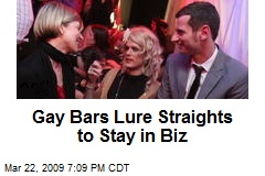 Gay Bars Lure Straights to Stay in Biz