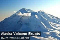 Alaska Volcano Erupts