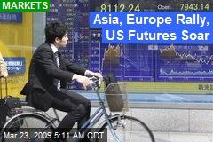 Asia, Europe Rally, US Futures Soar