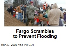 Fargo Scrambles to Prevent Flooding