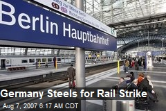 Germany Steels for Rail Strike