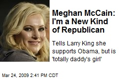 Meghan McCain: I'm a New Kind of Republican
