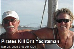 Pirates Kill Brit Yachtsman
