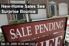 New-Home Sales See Surprise Bounce