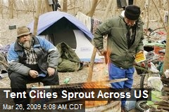 Tent Cities Sprout Across US