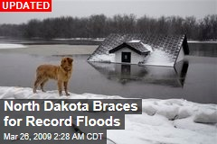 North Dakota Braces for Record Floods
